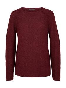Raglan Sweater - 100% Baby Alpaka - Bordeaux - Les Racines Du Ciel