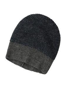 Mütze - 100% Baby Alpaka - Grey/Blue - Les Racines Du Ciel