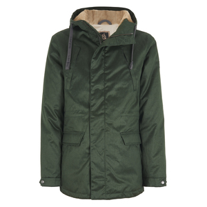 Men's Nordic Lights Parka - Dark Army Green - Hoodlamb