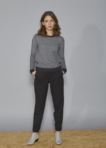 DAPHNE Sweat Pants - Black - Frieda Sand
