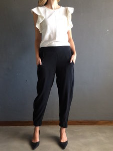 Luxury Party Pants Schwarze Hose - FOUND. Collection