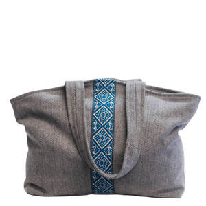 XL SHOPPER HOBO BAG BOLOGNA grau - manbefair