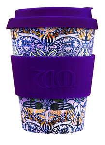 ecoffee Cup William Morris Peacock  340ml - ecoffee