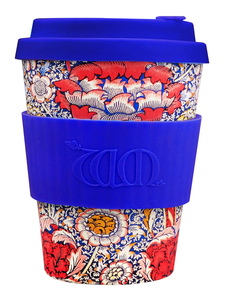 ecoffee Cup William Morris Wandle  340ml - ecoffee