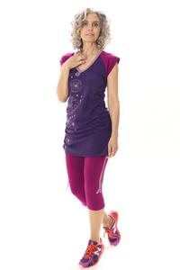 Longshirt Chantico, purple/beere - Göttin des Glücks