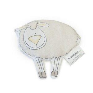 Das Theraline Baby Tröstetier Schaf beige, Kirschkernfüllung   - Theraline