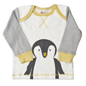 Pyjama - grau mit Motivdruck - People Wear Organic