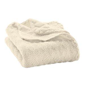 80cm x 100cm disana Bio Wolle Babydecke - Disana
