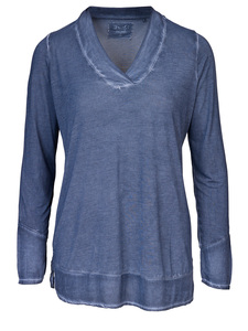 KIM: Damen Blusenshirt mit V-Ausschnitt - Daily's by DNB