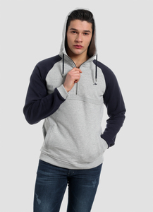 MOR-4004 H.ZIPPER HOODIE - ORGANICATION
