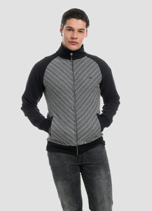 MOR-4089 HERREN ZIPPER RAGLAN JACKE - ORGANICATION