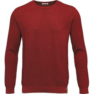 Sailor Pattern Knit - GOTS Pompeian Red - KnowledgeCotton Apparel