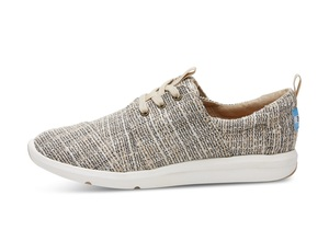 Oxford Tan Multicolor Tweed Del Rey Sneaker - Toms