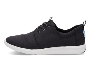 Black Poly Del Rey Sneaker - Toms