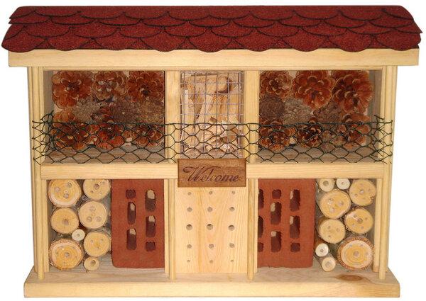 insektenhotel bausatz landhaus komfort von luxus. Black Bedroom Furniture Sets. Home Design Ideas