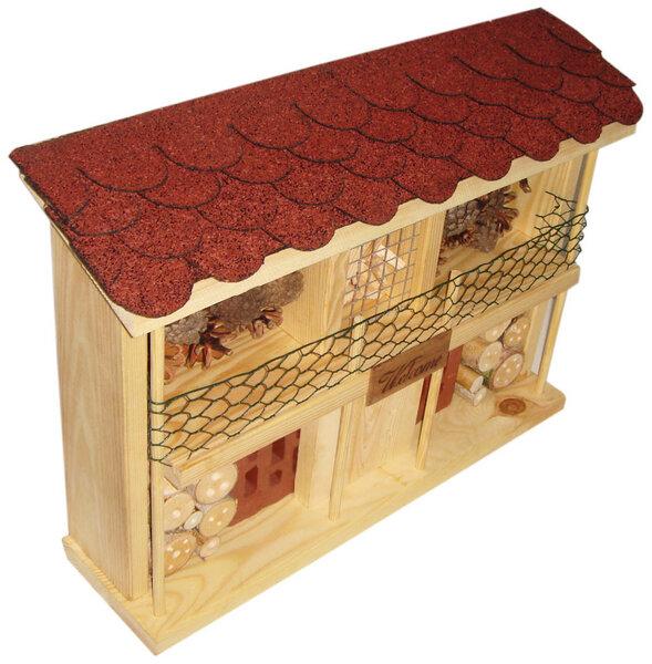 luxus insektenhotels insektenhotel bausatz landhaus komfort avocadostore. Black Bedroom Furniture Sets. Home Design Ideas