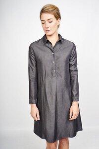 Colette Organic Shirt Kleid - bibico