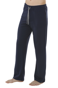 Fairtrade lange Hose, navy - comazo|earth