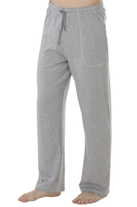 Fairtrade lange Hose, grau-melange - comazo|earth