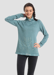 WOR-4009 DAMEN HOHER HALS SWEATSHIRT - ORGANICATION