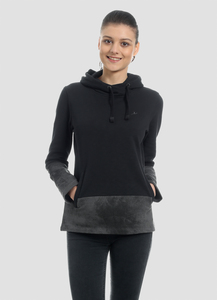 WOR-4022 DAMEN KAPUZENPULLOVER - ORGANICATION
