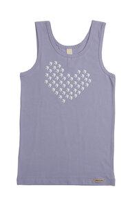 Fairtrade Mädchen Unterhemd Achselträger, sweet lavender - comazo|earth
