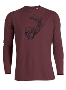 Animal Deer Timber - Riffle - Langarmshirt - GreenBomb