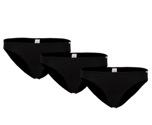 Dreierpack Jazz Pants Unterhose schwarz - comazo|earth