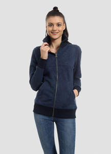 WOR-4073 DAMEN SWEATJACKE - ORGANICATION