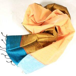 Edler Schal aus handgewebter Seide - Schönes aus Indochina