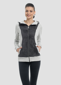 WOR-4080 DAMEN ZIPPER HOODIE - ORGANICATION