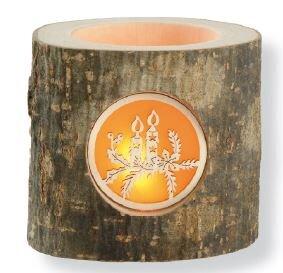 """Teelichter aus Holz """"Heimelige Stimmungsleuchter"""" Weihnachten  - Dolfi"""