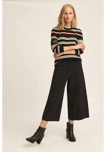 Elise Stripe Jumper  - People Tree