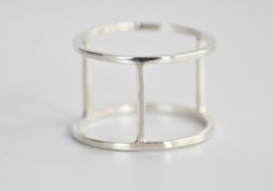 3 Bar Ring Silber - Wild Fawn Jewellery