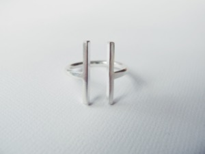 Gap Ring Silber - Wild Fawn Jewellery