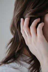 Gap Ring Silber - Wild Fawn Jewellery