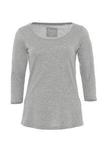Damen ¾ - Arm Basic Shirt Biobaumwolle: ADANA - Daily's by DNB