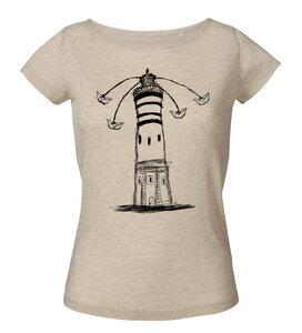 Lighthouse Circus Frauen Shirt aus Modal / FAIR WEAR - ilovemixtapes