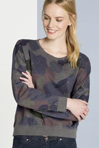 Oversize Sweatshirt Kathi Flowers - SHIRTS FOR LIFE
