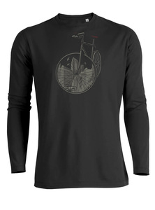 Bike City - Riffle - Langarmshirt - GreenBomb