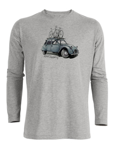 Bike Road Tripping - Riffle - Langarmshirt - GreenBomb