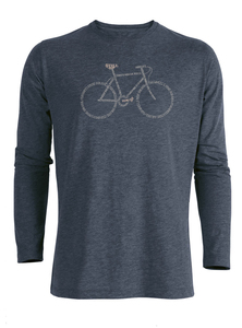 Bike  Script - Riffle - Langarmshirt - GreenBomb