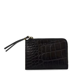 Coin Purse - Classic Black Croco - O MY BAG
