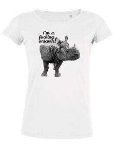 I´m a fucking unicorn! - T-Shirt Damen - What about Tee