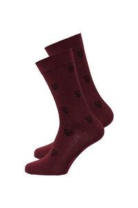 Unisex Socken #HEARTARROW dunkelrot  - recolution