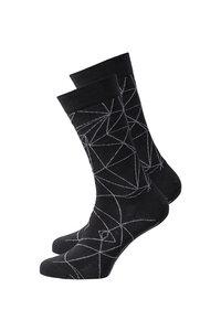 Unisex Socken #CRYSTAL schwarz - recolution