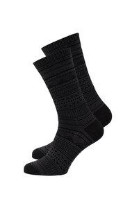 Unisex Socken #AZTEC anthracite grau - recolution