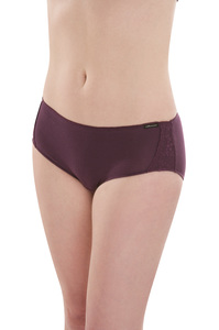 Fairtrade Hot Pants, plum - comazo|earth