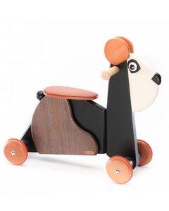 Rutschtier Panda Emil braun weiß nachhaltig tédé - tède