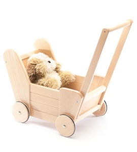 Puppenwagen Charlotte natur nachhaltig tédé - tède